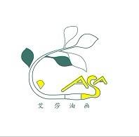 艾莎油画家居logo