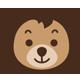 艾贝小熊logo