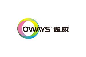傲威logo