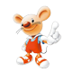 芭豆鼠logo