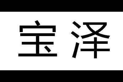 宝泽logo