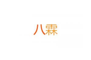 八霖logo