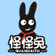怪怪兔童装logo
