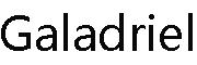 Galadriellogo