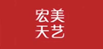 宏美天艺logo