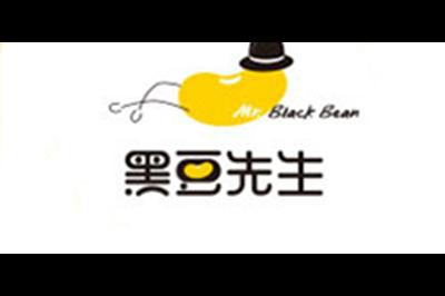 黑豆先生logo