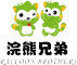 浣熊兄弟logo