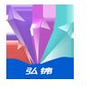 弘锦logo