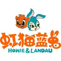 虹猫蓝兔童装logo