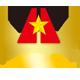 辉煌之星食品logo