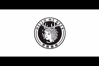 黑鹿咖啡logo