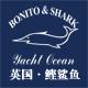 鲣鲨鱼男装logo