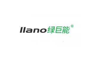 绿巨能logo