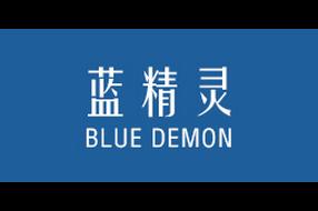 蓝精灵logo