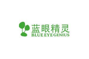 蓝眼精灵logo
