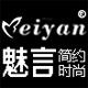 魅言服饰logo
