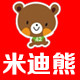 米迪熊logo