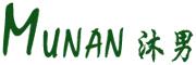 沐男logo