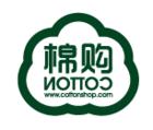 棉购服饰logo