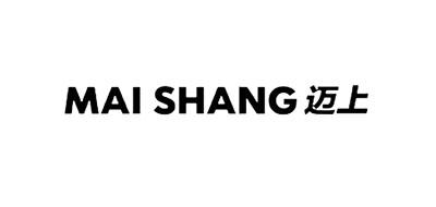 迈上logo