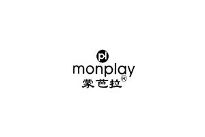 蒙芭拉(monplay)logo