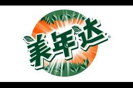 美年达logo