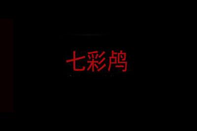七彩鸬童装logo
