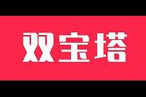 双宝塔logo