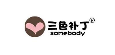 三色补丁logo