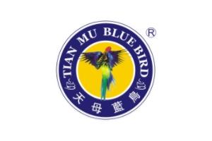 天母蓝鸟logo