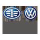 一汽大众汽车大众logo