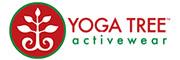 瑜伽樹運動休閑品牌logo