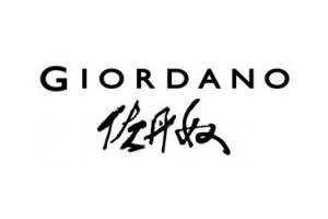 佐丹奴(Giordano)logo