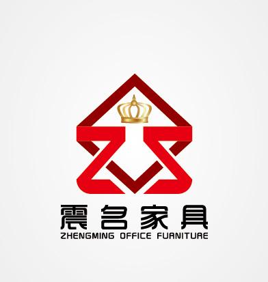 震名家具logo