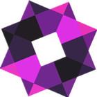 紫精灵马赛克家居logo